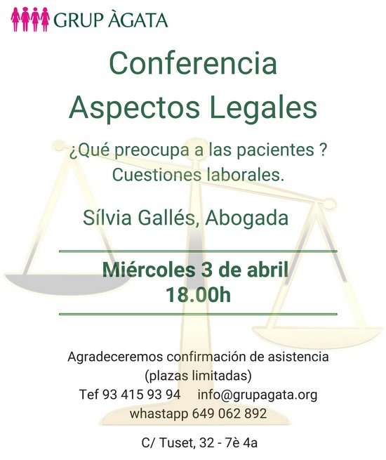 ConferenciaSilviaGalles 3abril19